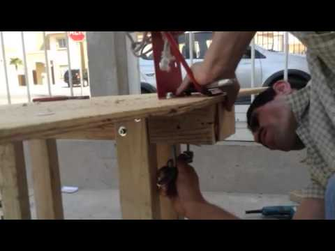 How to build a basketball hoop for cheap part 3 youtube for How to build a basketball goal