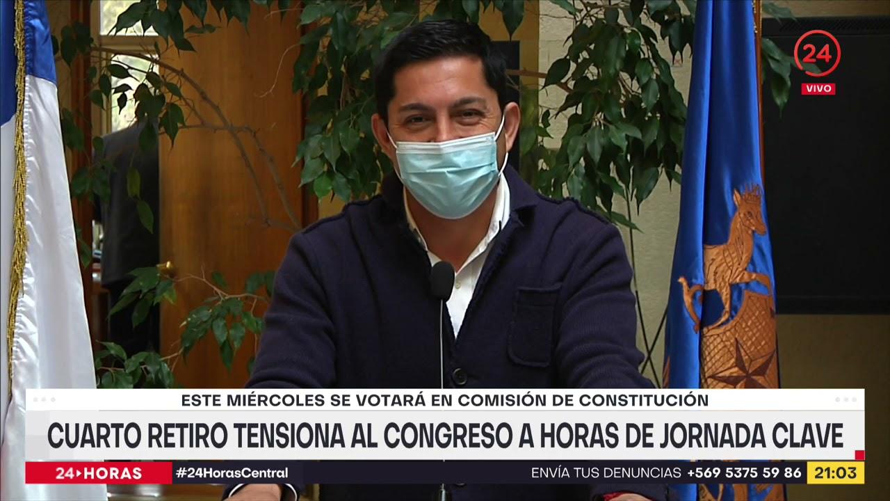 Download Cuarto retiro tensiona al Congreso a horas de jornada clave