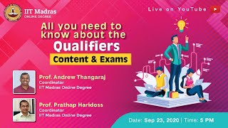 LIVE _ All you need to know about the qualifiers - Content \u0026 Exams