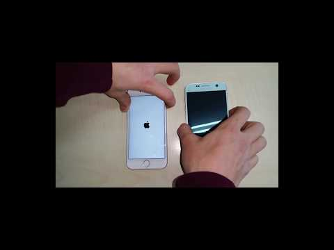 Iphone 6s vs Samsung Galaxy S7 Opening Test 2018!