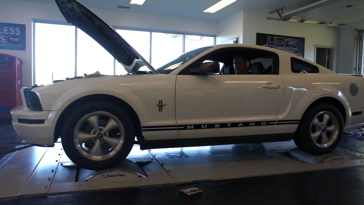 2008 ford mustang v6 supercharged tuned by smokey 39 s dyno. Black Bedroom Furniture Sets. Home Design Ideas