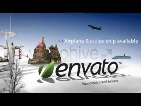 After Effects Template Worldwide Travel Intro Show