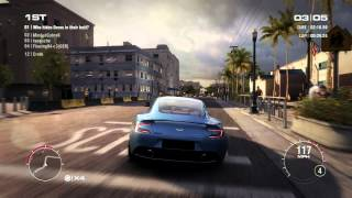 GRID 2 PC Multiplayer Race Gameplay: Tier 3 Upgraded Aston Martin Vanquish in Miami