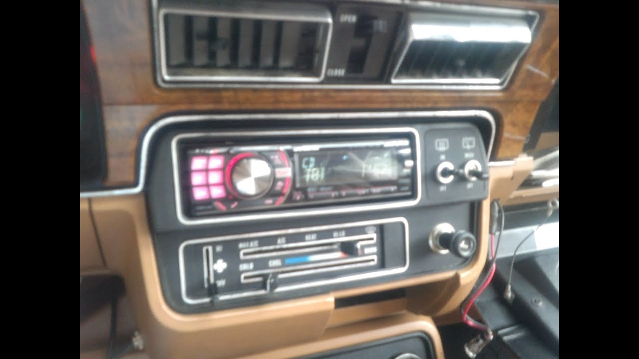 Amc Eagle Audio Install Youtube American Motors Radio Wiring Diagram