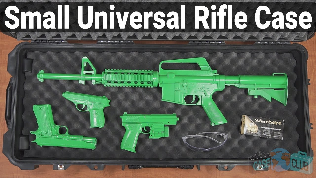 Case Club Small Universal Waterproof Rifle Case - Overview - Video