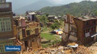 Drone Video of Nepal Earthquake Devastation