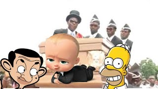 Cartoon Mix Coffin Dance Meme