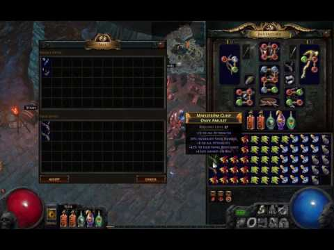 Path of Exile - Alching 160 ilvl84+ amulets (Breach Sc)