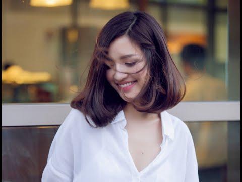 Cách uốn cúp đuôi tóc bằng lô tiện lợi - Maykeptoc.com