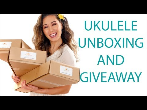 Ukulele Unboxing, Review, and Giveaway - Sun Star Music (closed)
