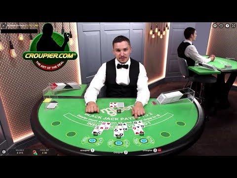 Live Casino Blackjack Dealer Suggests I Bet LESS! Mr Green Online Casino