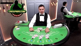 Live Casino Blackjack Dealer Suggests I Bet LESS! Mr Green Online Casino! thumbnail