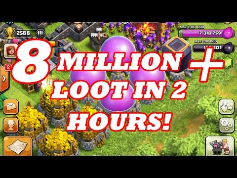 HOW TO FARM 8 MILLION + LOOT IN 2 HOURS! | BEGINNERS GUIDE | Clash Of Clans