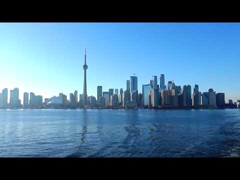 Ferry Ride To The Toronto Islands