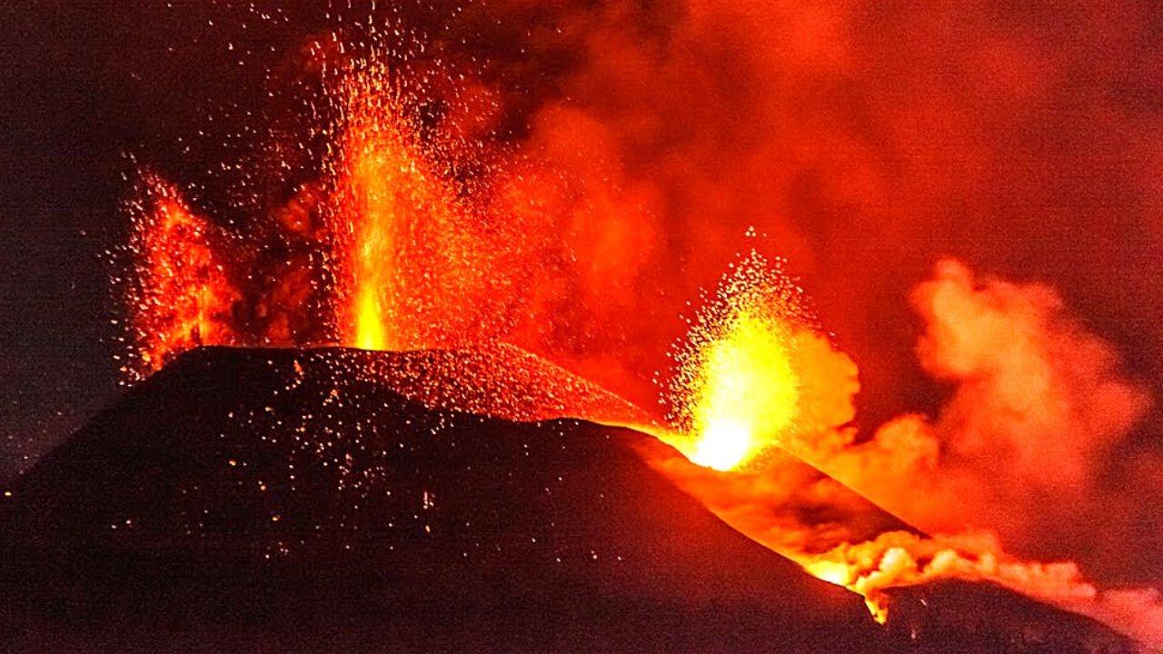 Download 🚨 ÚLTIMA HORA: Nueva Boca de LAVA en Volcán de La Palma (Erupción Volcánica España) Noticias 2021