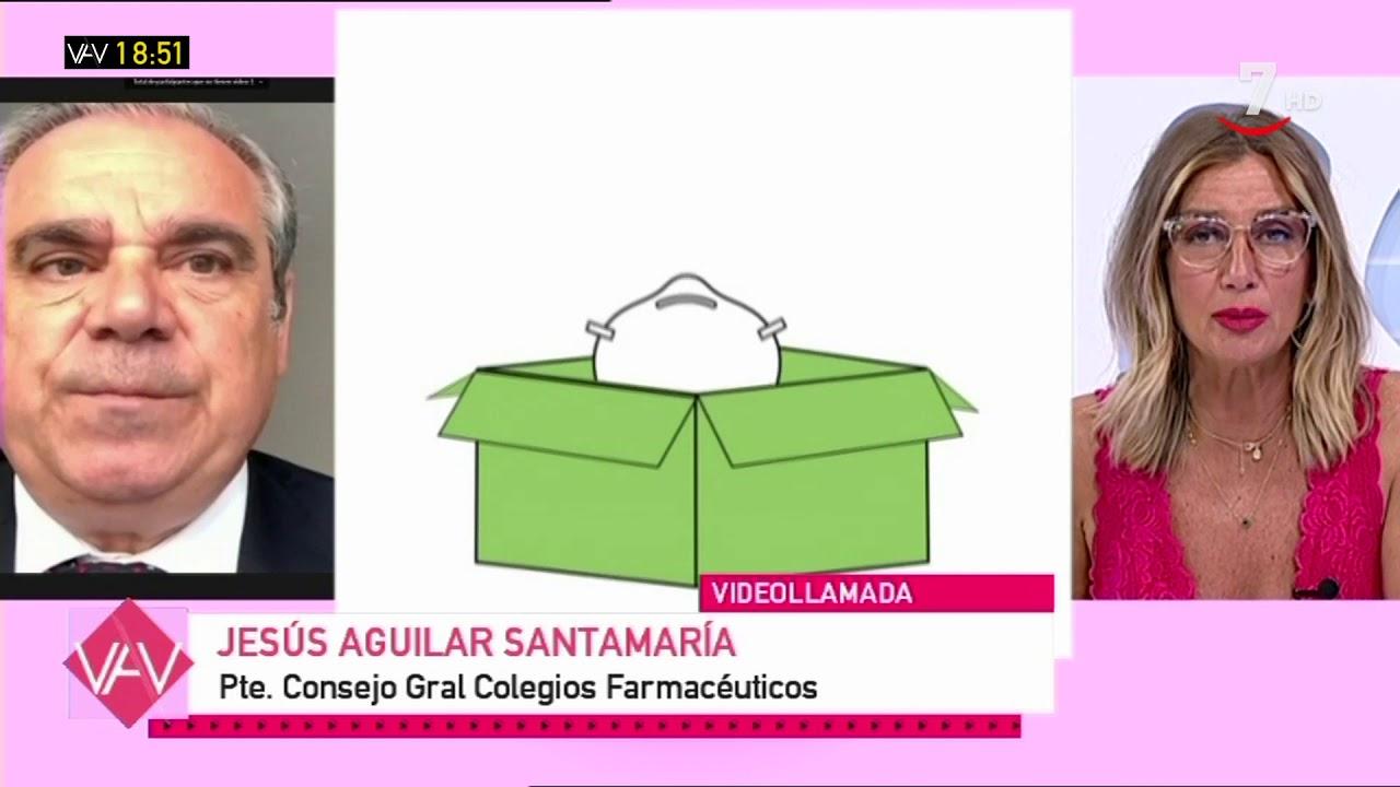 Entrevista a jesús Aguilar Santamaría, Pte. Consejo Gral. Colegios de Farmacéuticos | Vamos a ver