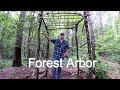 Rustic Forest Arbor