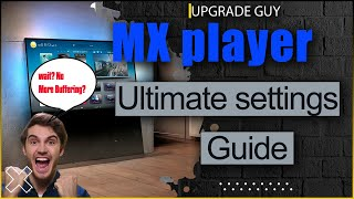 Mx player hidden features - Best Mx player pro settings for eliminating buffering + audio issues  📺 screenshot 2