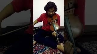 lag-ja-gale-on-violin-by-saket-sahu