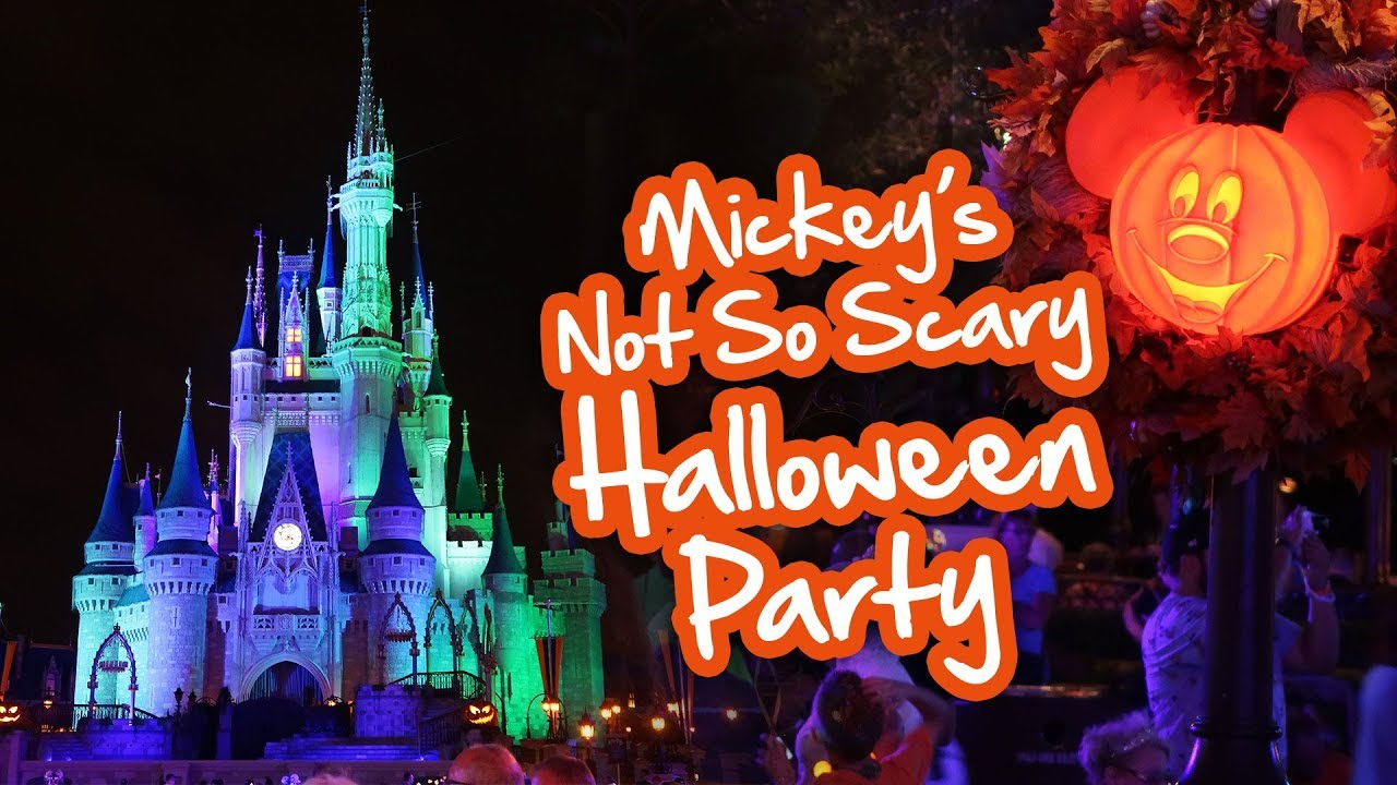 mickeys not so scary halloween party 2017 - disney world vlog - youtube