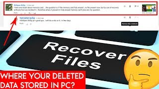 where the deleted data stored ? how recovery software works?| | TECH SETTAI TAMIL
