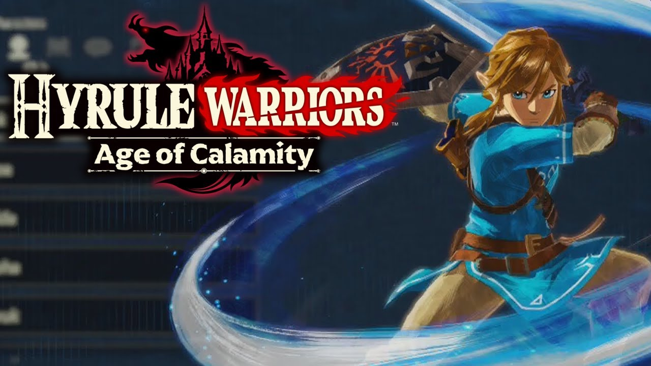 Hyrule Warriors Age Of Calamity Gameplay With Link Hyrule Warriors Costume And All Weapons Youtube