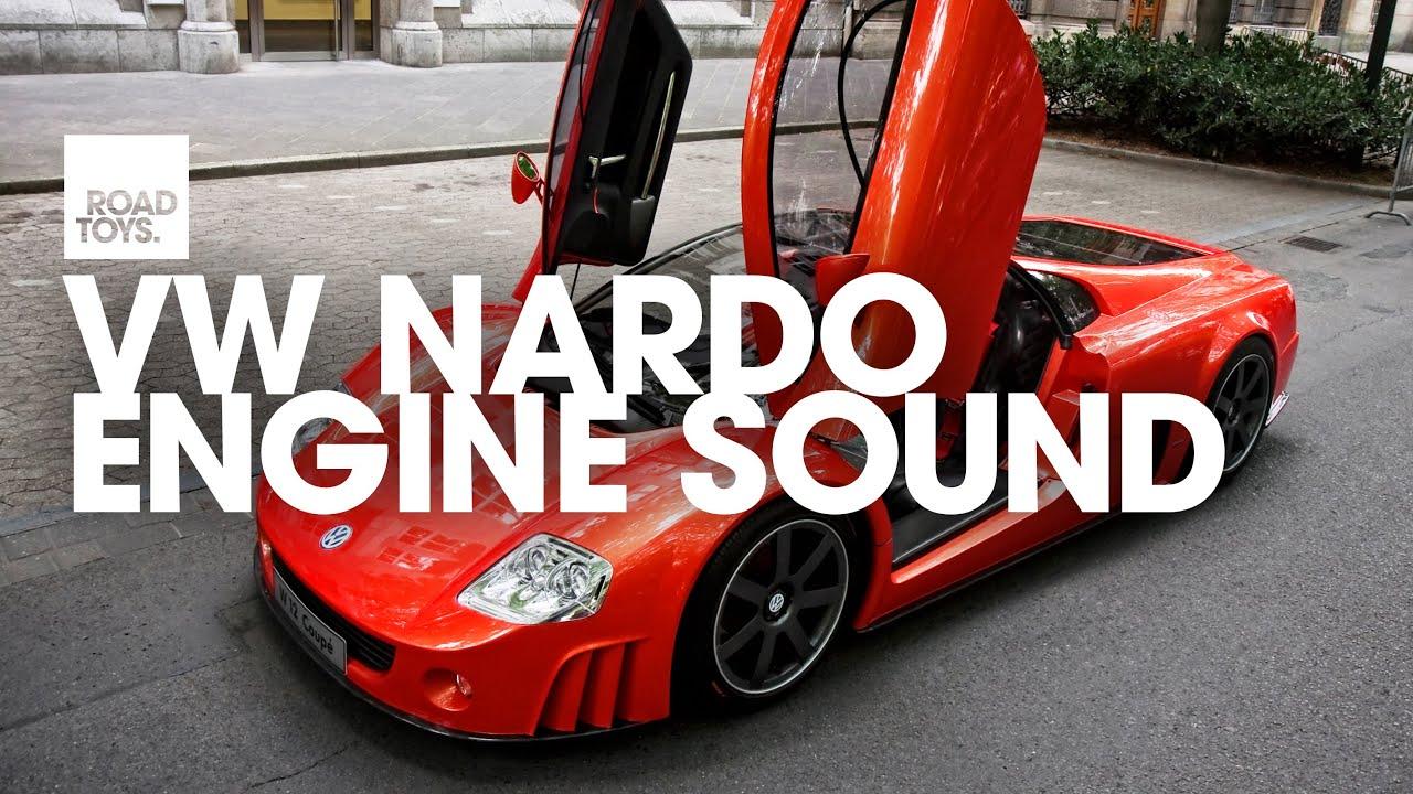 VW Nardo W12 - engine sound - YouTube