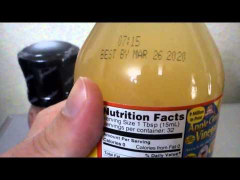 Himalayan Pink Salt and Organic Apple Cider Vinegar