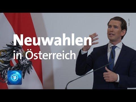 Tagesthemen-Extra zu Neuwahlen in Österreich