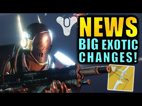Destiny 2 News: BIG EXOTIC CHANGES! Easier Forsaken Exotics, Buffs, & More! thumbnail