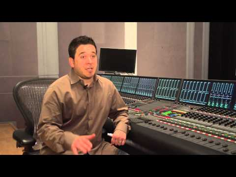 Gary Rizzo talks about mixing on the AMS Neve DFC