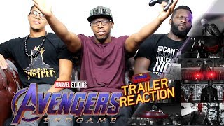 Avengers Endgame Super Bowl Trailer Reaction