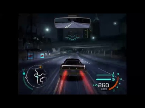 Need For Speed Carbon (With music cause fuck it WORKING FINALLY)