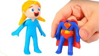 Tommy's Friend Wears Superman's Suit ?? 💕 Cartoons For Kids