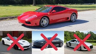 Buying Used Ferrari 360 Over Modern Sport Cars?