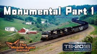 Train Simulator 2016 - Norfolk Southern Coal District - Monumental Part 1
