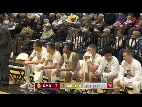 SMSU Mens Basketball vs University of MN Duluth 12-09-2016