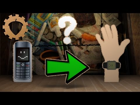 Make Your Own Smartwatch From An Old Cell Phone (Part 1)