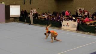 BOAC 2016   155   031   Women's Pair   Age Group   Dynamic   ENG   Osiris school of gymnastics ENG,
