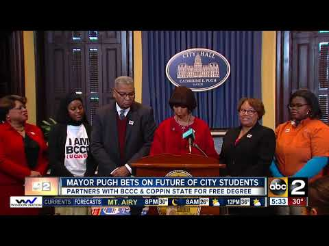 Mayor and Baltimore City Community College announce Mayor Scholars Program