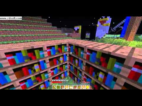 Where To Put Bookshelves For The Enchantment TableMinecraft YouTube - Enchantment table bookshelves