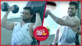Karan Patel Is On Fitness Spree - Latest full Workout Video   EXCLUSIVE