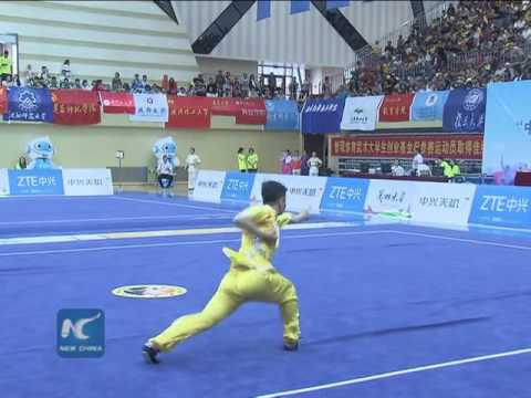 College students battle it out for Kung Fu master title