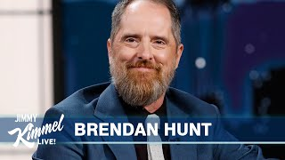 Brendan Hunt on Ted Lasso Emmy Wins, Pretending to Be English \u0026 New Baby