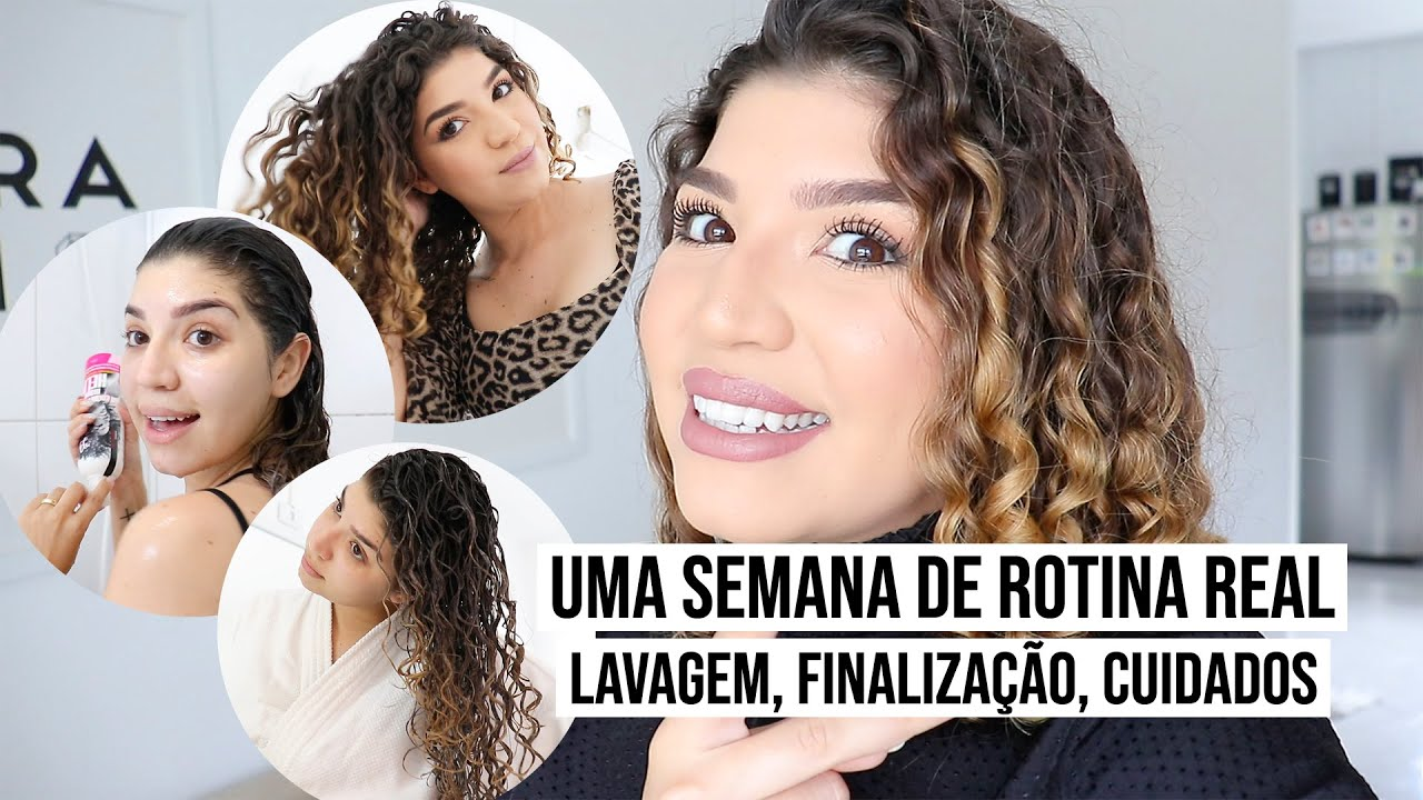 ROTINA DE CUIDADOS REAL *UMA SEMANA DO MEU CABELO CACHEADO* | por Jessica Melo