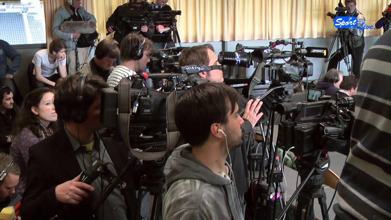 Fußball-EM 2012:  Pressekonferenz mit den 3 polnischen Akteuren vom BVB (Teil 1)