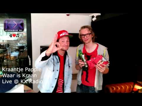 Kraantje Pappie - Waar is Kraan (live @ KX Radio)