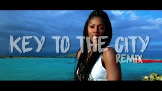 Tiwa Savage Ft Busy Signal - Key To The City Remix  Official Music Video
