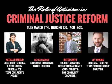 The Role of Activism in Criminal Justice Reform