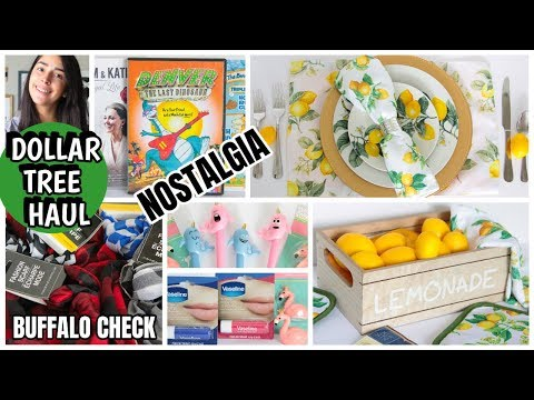 DOLLAR TREE HAUL NEW FINDS JUNE 2019